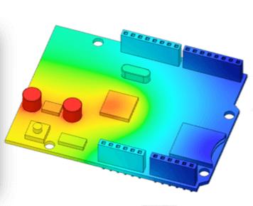 Fusion360-tepelna analyza