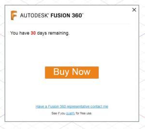 Fusion 360 aktivace zdarma krok 2