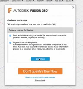 Fusion 360 aktivace zdarma pro kutily